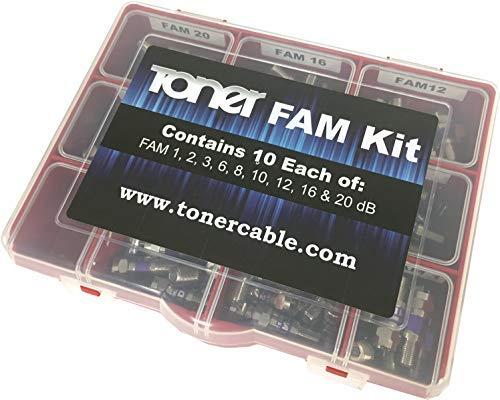 (FAM Kit, FAM Series Attenuator Pad Kit, Toner Cable Equipment)