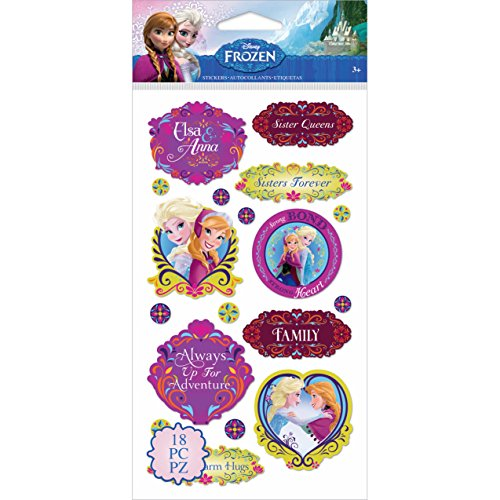 (Disney's Frozen Stickers-Anna &)
