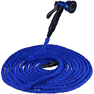 Anpro Garden Hose 100ft Light Duty ExpandableCollapsible Garden