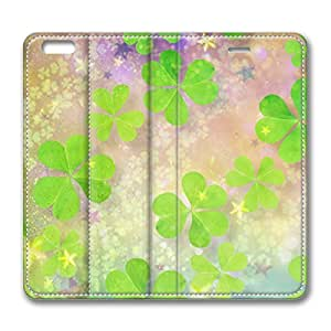 iPhone 6 4.7inch Leather Case, Clover World Personalized Protective Slim Fit Skin Cover For Iphone 6 [Stand Feature] Flip Case Cover for New iPhone 6 wangjiang maoyi