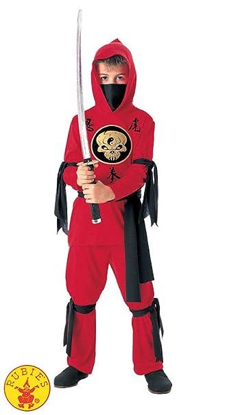 Child Red Ninja Costume S Child Red Ninja Costume - S ...