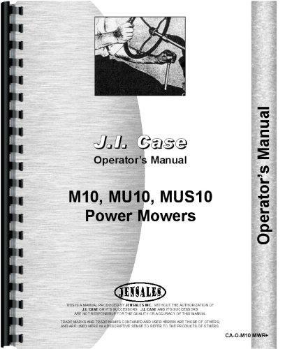Case M10 Sickle Bar Mower Operators Manual pdf