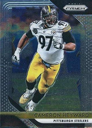 6cd8d7fcb 2018 Panini Prizm  35 Cameron Heyward Pittsburgh Steelers Football Card