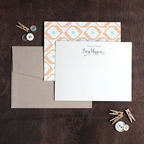 Pattern 4x5 Flat Note Cards (Mod Flat Cards)