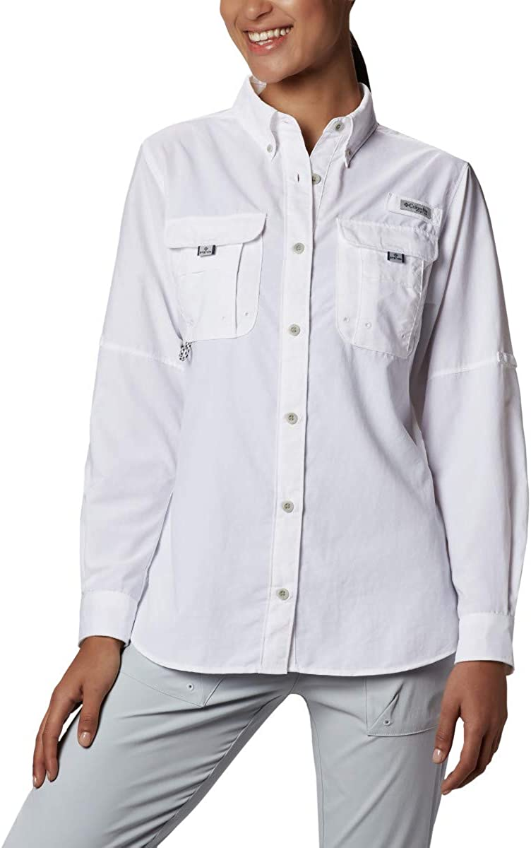 Columbia Women's PFG Bahama Long Sleeve Shirt: Clothing