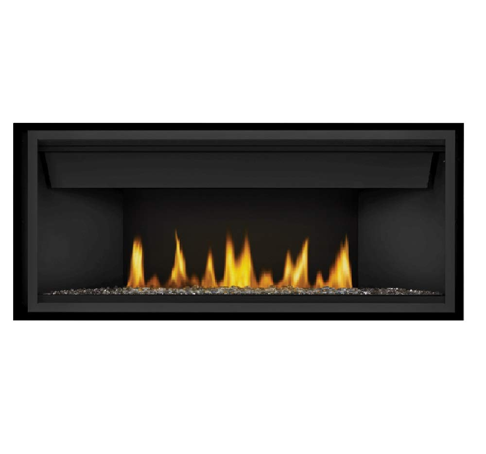 Linear Gas Fireplace >> Amazon Com Napoleon Ascent Linear Bl46nte Direct Vent Natural Gas