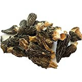 Dried Morel Mushrooms by Slofoodgroup (Morchella Conica) Gourmet Morel Mushrooms Various Sizes of Morels Available (15 Morel Mushrooms)
