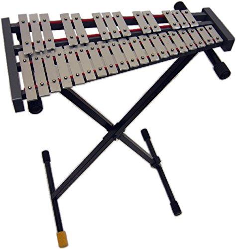 全音(ゼンオン) 32音板 卓上用 グロッケン 鉄琴 226Z X型スタンド(ST1)付   B00CQUI4H8