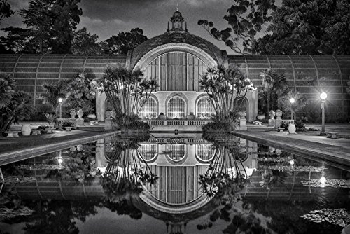 balboa-park-black-and-white-wall-art-bedroom-decor-extra-large-wall-art-living-room-decor-office-dec