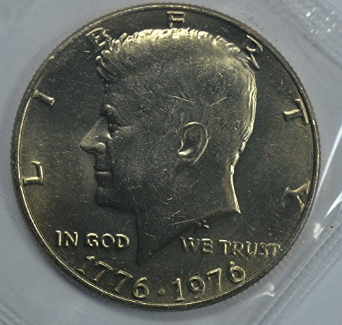 1776-1976 Kennedy Bicentennial Half Dollar Brilliant Uncirculated Original Mint Cello