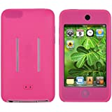 Theo&Cleo NEW Pink Skin Case Cover Accessory For Apple 2nd Gen 2G 8GB 16GB/32GB iPod Touch