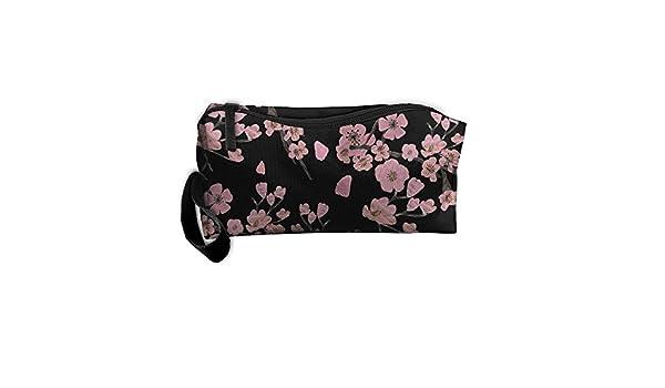 Japonés Sukiyaki flores Cute bolsa estuche de viaje bolsa de cosméticos: Amazon.es: Hogar