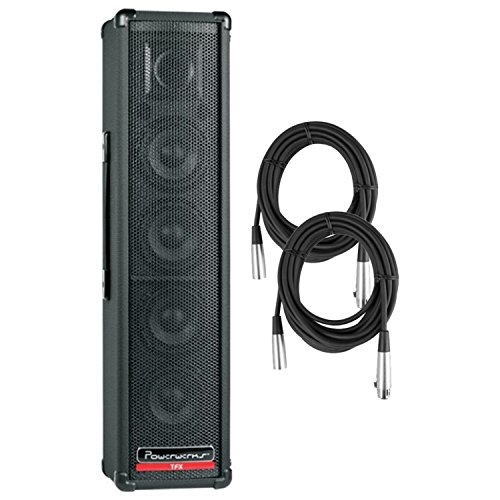 Powerwerks PW150TFX 150W Self Contained PA w/ Bult In Digital Effects and 2 Cables