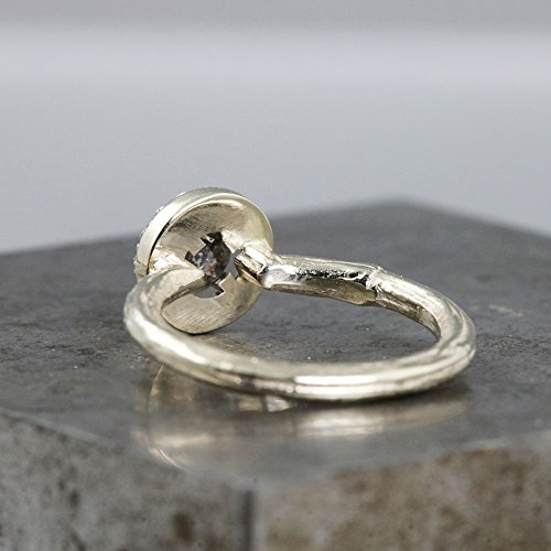 14k-White-Gold-Twig-Ring-with-Diamond-Halo-and-Black-Rose-Cut-Diamond