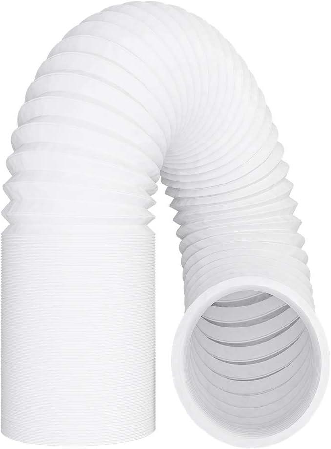 VIOKS Manguera de Escape 6M Aire Flexible para extractores secador Acondicionado capó MaterialPVC diameter125 mm 12,5 cm Metros length6.0 Tubo