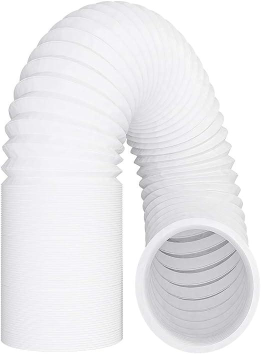 Tubo de salida de aire acondicionado (125 mm, 6 m, PVC, incluye 2 abrazaderas): Amazon.es: Alimentación y bebidas