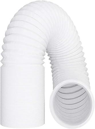 Vioks - Tubo de salida de aire (150 mm/3 m, flexible, PVC, incluye 2 abrazaderas para aire acondicionado, campana extractora y secadora: Amazon.es: Alimentación y bebidas