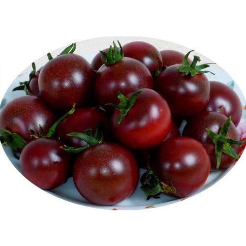 20 PCS Negro Perla semillas de tomate de alta vitamina plantar semillas: Amazon.es: Hogar