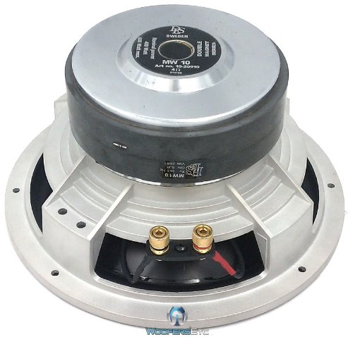 MW10 - DLS 10 4 OHM REFERENCE Magnesium Subwoofer