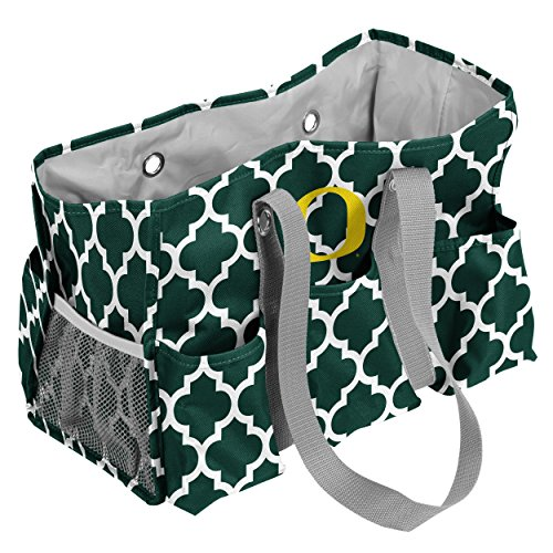Logo Brands Oregon Ducks Patterned Multi-Pocketed Junior Caddy