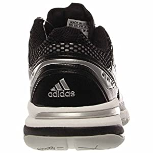 Adidas Volley Light Womens Volleyball Shoe 11.5 Black-White-Silver