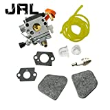 JRL Carburetor & Carb Gasket Fuel Line 4.5 Feet Spark Plug For Stihl FS-110(R)