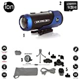 iON AIR PRO PLUS Full HD 1080p Wearable Sports Action Video Camcorder 32GB Complete System