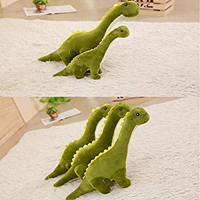Rain city Long-Necked Dragon Doll Novelty Safe Smooth Down Cotton Suitable for Women or Children,80cm: Home & Kitchen