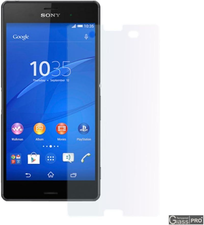 Protector de cristal templado para Smartphone Sony Xperia Z3 D6603 D6653 Protector integrado pantalla Salva pantalla irrompible: Amazon.es: Electrónica