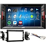 JVC DVD/CD Player Monitor w/Bluetooth/USB/iPhone/Android For 2004-06 Ford F-150
