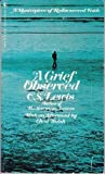 A Grief Observed, C. S. Lewis, 0553148400