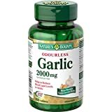 Nature's Bounty Odourless Garlic Tablet, 2000 mg