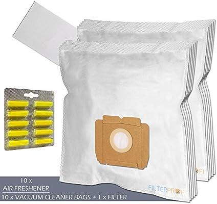 SET - Ambientadores + Filtro + 10 Bolsas de aspiradora Para AEG ...