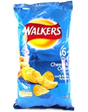 Walkers Cheese and Onion Crisps 6 Pack 150g
