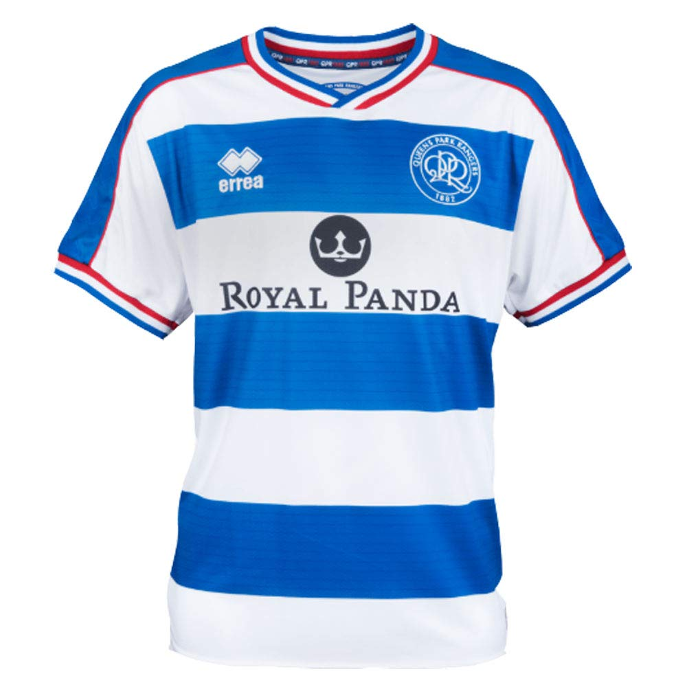 Errea 2018-2019 QPR Home Football Soccer T-Shirt Trikot