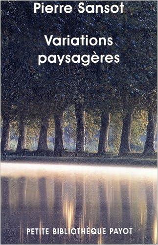 Telecharger Le Livre En Anglais Pdf Variations Paysageres