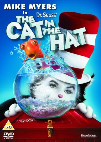 Image result for the cat in the hat uk dvd