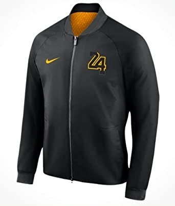 Image Unavailable. Image not available for. Color  Nike Men s Kobe Bryant Los  Angeles Lakers NBA City Edition Modern Jacket ... 2c407b32f