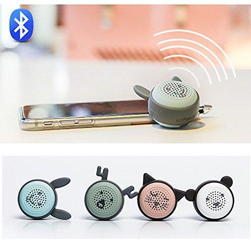 Bluetoothスピーカーミニポータブルワイヤレスクリエイティブギフトモバイル電話タイマーサウンドサブウーハー B07BFX3F4P パンダ パンダ