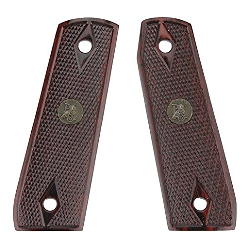 Pachmayr Ruger 22/45 Checkered Gun Grips, Rosewood