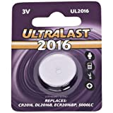 ULTRALAST UL2016 Lithium Button Battery