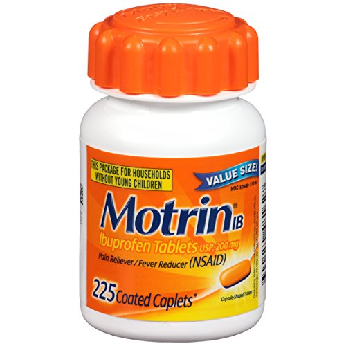 Motrin IB, Ibuprofen, Aches and Pain Relief, 225 Count Only $6.74 **Today Only**