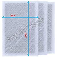 Ray Air Supply 24x30 MicroPower Guard Air Cleaner Replacement Filter Pads (3 Pack) WHITE