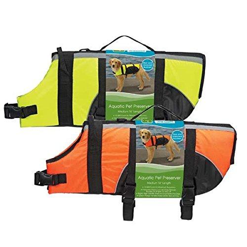 Guardian Gear Aquatic Preserver for Dogs, 24'' XL, Orange
