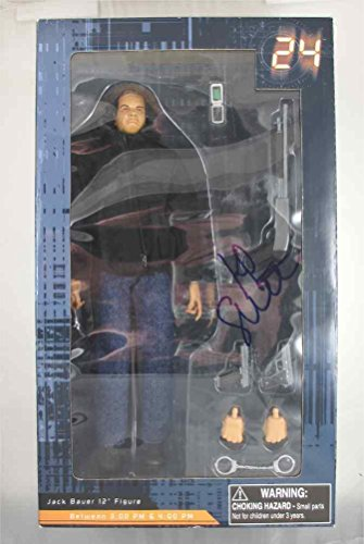 Kiefer Sutherland 24 Autographed Signed Action Figure Certified PSA/DN