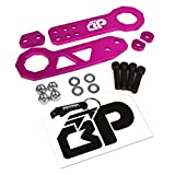 240sx tow hook - BlackPath - Universal Fit Front and Rear JDM Racing Style Tow Hook Set (Pink) T6 Billet