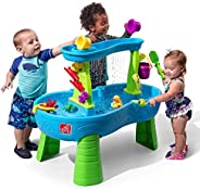Step2 Rain Showers Splash Pond Water Table   Kids Water Play Table with 13-Pc Accessory Set