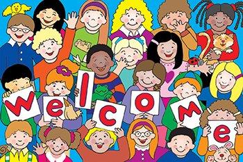Kids Welcome Postcards 30Pk (Kids Welcome Postcards)