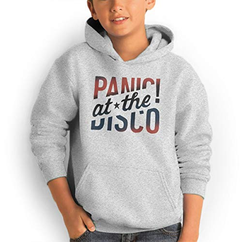 AlvinGuy Youth Boys and Girls Panic! at The Disco Logo Pockets Jackets Sweatshirts Hoodies Hooded