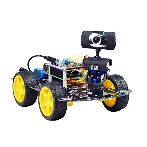 Xiao R Geek Ds Wireless Wifi Robot Car Kit For Raspberry Pi Remote